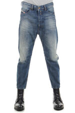 DIESEL Men Denim NARROT Regular-Carrot Fit Capri Jeans New with Tag Original