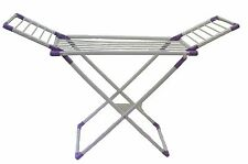 Foldable Clothes Laundry Drying Rack Dryer Hanger Stand Garment Clothesline