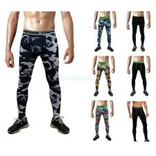 Long Tight Men Sport Pant Legging Stretch Ankle for Running Basketball