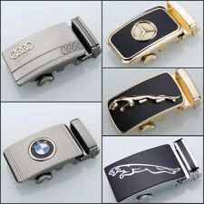 New Mens Alloy Rachet Automatic Belt Buckle For Mens Leather Belt Gold/Silver