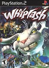 Playstation 2 Whiplash Game COMPLETE - Acceptable - CIB - USED