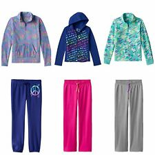 NWT Girls SO Microfleece Pullover Hoodie Jacket & Pants Sweatpants Set Size 7/8