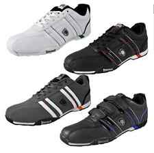 LONSDALE SENEKA white grey Mens Trainers Lace up 7  10 11  12 shoes boxing