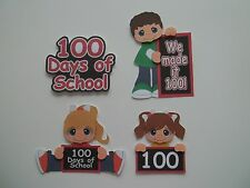 3D - U Pick - 100 Days School Boy Girl  Scrapbook Card Embellishment 2281