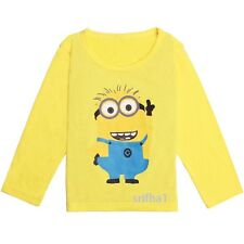 NEW DESPICABLE ME MINIONS BOY GIRL CLOTHES CHILD TOPS TEES CHILDREN KIDS T-SHIRT