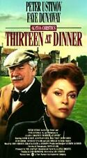 Thirteen at Dinner (VHS, 1999) brand new sealed Ustinov Dunaway