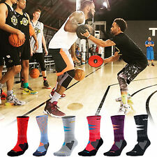 Nike Lebron King James LBJ Heat Hyper Elite Cushioned Mens Crew Basketball Socks