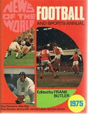 News Of The World Football And Sports Annual 1975 by Butler Frank - Book