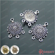 20PCS 20*17MM Alloy Earring Connector Charms Jewelry Findings Accessories 16090
