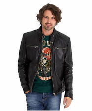 Joe Browns Men's Leather Biker Jacket