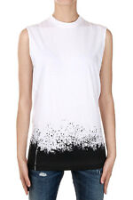DSQUARED2 Woman Sleeveless Cotton T-shirt Made in Italy New with Tags