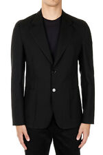MARTIN MARGIELA MM10 Men Black Cotton and Wool Blazer Made in Italy New