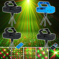 Music Active Mini LED R&G Laser Projector Stage Lighting DJ Disco Party Club IR