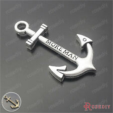 20PCS 38*21MM MORE MAN Anchor Charms Pendants Jewelry Findings Accessories 29394