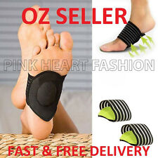 Cheapest Cushioned Foot Arch Support Shock Pain Absorber Relief Achy Tired Sale