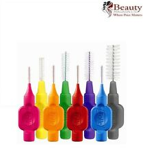 New Genuine TePe Interdental Brushes all Colours/Sizes Pack of 8 brushes