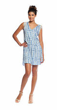T-Bags Los Angeles Woven Dress with Chain Lace Trim   CROCUS