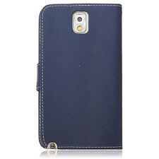 Flip Polyurethane Leather Wallet Case Stand For Samsung Galaxy Note 3 N9000