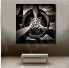 Aircraft Propeller Art Canvas Poster Print Home Decor