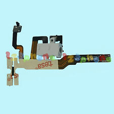 New Headphone Audio Jack + Volume Flex Cable Ribbon For iPhone 4s