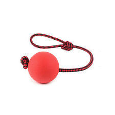 Solid Rubber Ball Solid Rubber Dog Chew Training Ball Toys Puppy Pet Play Toy