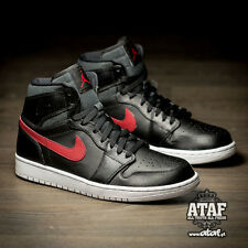 NIKE AIR JORDAN 1 HIGH RARE AIR BRED ROYAL RETRO CHICAGO BLACK RED 332550-012