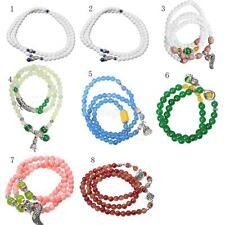 Fashion Women Multilayer Beads Wrap Pendant Charms Bracelet Bangle Jewelry