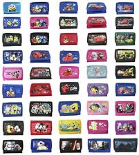 Disney Frozen Inside Out Minions Cars Dora Licensed Tri-Fold Wallet Coin Purse
