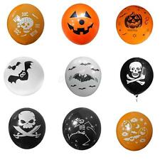 100 PCS Halloween Latex Balloons Birthday Party Decoration Creative Printing