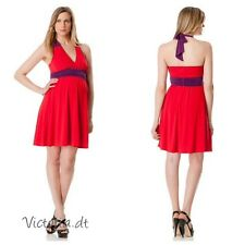 NEW Max and Cleo - A Pea In The Pod Halter Maternity Dress size 6 S 10 L $$$