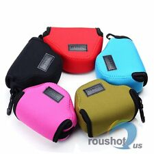 5 Color Neoprene Soft Pouch Case Bag Fr Panasonic DMC-GM1 12-32mm Lens Camera