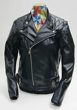Vanson Chopper with Black Lining and Competition Weight Leather Jacket IN STOCK!