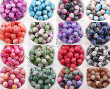 Wholesale 15/20/25X Gemstone Round Spacer Loose Bead Charm Making Craft 6/8/10mm