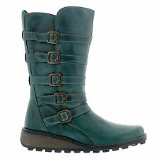 Fly London Meca 896 Fly Rug Petrol Womens Boots