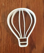 Hot Air Balloon With Vertical Stripes cookie and fondant cutter - US SELLER!!