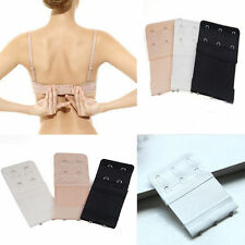 3x 2/3Hook Bra Extender Soft Ladies Bra Extension and Strap Underwear Strapless