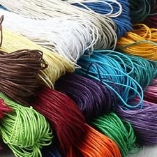 10m Waxed Nylon Macrame Cord Thread Jewelry Beading Making String Crafts 1.5mm