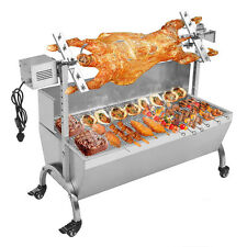 Heavy Duty Pig Goat Charcoal Barbeque BBQ Grill Rotisserie Roasting Machine