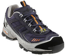 Nautilus Womens Steel Toe Athletic W Blue Leather Shoes