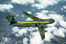 USAF C-5 Galaxy  Color Photo Military Aircraft  C 5 1983 Camouflaged Pattern