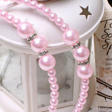 Fashion Pearl Rhinestones Headbands Princess Headwear Girls Decorations LI
