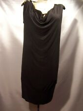 A.n.a  A new approach Womens Black Tunic Top Size L large