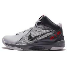 Nike The Air Overplay IX 9 Grey Black Red Mens Basketball Shoes 831572-006
