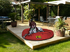 Luxury Top Quality Waterproof Round Dog Bed 5 Colours & 3 Sizes Available