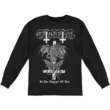 Grotesque Men's  In The Embrace Of Evil  Long Sleeve Black