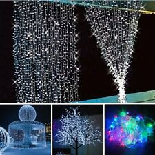 Hot Gift Warm 10M 100 LED Fairy String Lights Christmas Tree Xmas Party Wedding