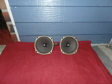 """2-Cleveland 5 1/4"""" Field Coil Speakers  Tested Watch Video/Listen"""
