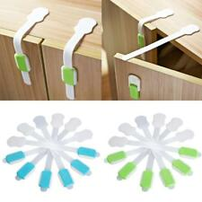 Phenovo Adhesive Baby Child Kid Safety Cabinet Door Fridge Drawer Cupboard Lock