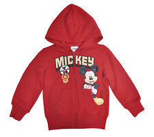 Mickey Mouse Toddler Boys Zipup Hoodie Jacket