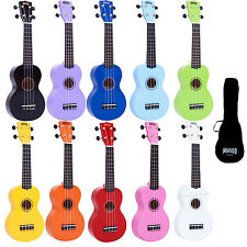 Mahalo Right Handed Coloured Ukulele with Aquila Strings and Gig Bag